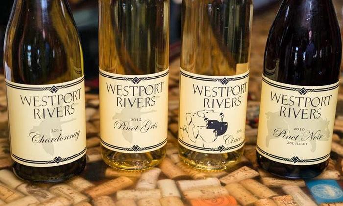 Westport Rivers Winery - Westport Rivers Vineyard and Winery: $15 for $30 Worth of Wine Tastings, Baked Goods, Wine, and Accessories at Westport Rivers Winery