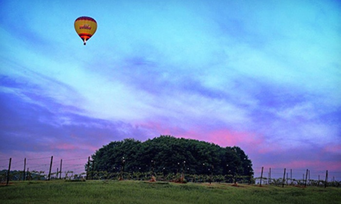 Grand Traverse Balloons - East Bay: Group Sunrise Balloon Ride for Two from Grand Traverse Balloons (Up to 40% Off). Two Options Available.