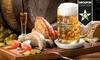 Bierverkostung und 3-Gänge-Menü