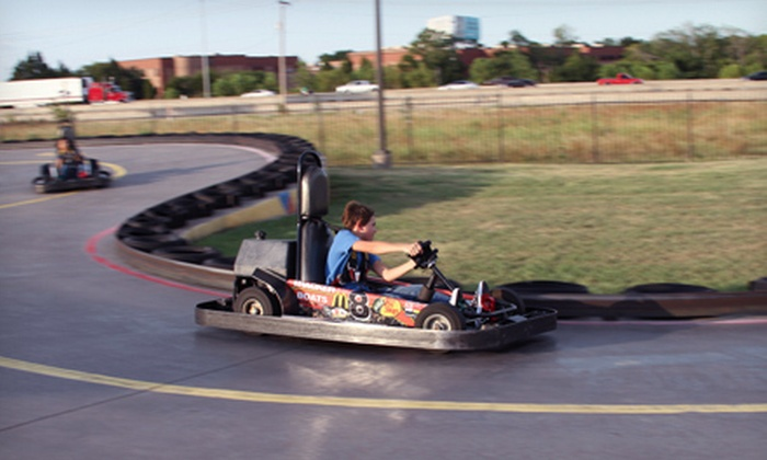 Zone Action Park - Lewisville: Go-Karting, Mini Golf, and Video Games or a Birthday Bash for Up to 16 Kids at Zone Action Park (Up to 55% Off)