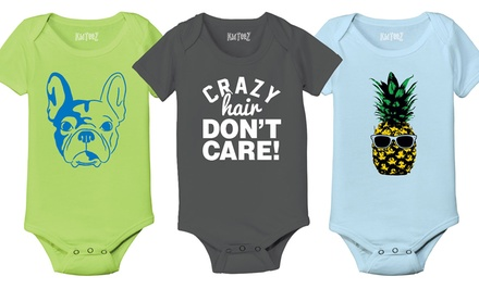Kidteez Infant Boys' Graphic Bodysuits
