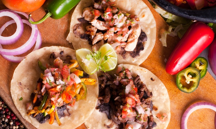 Maria's Deli - Pearl River: $11 for Two Groupons, Each Good for Three Tacos and a Drink at Maria's Deli ($20 Value)