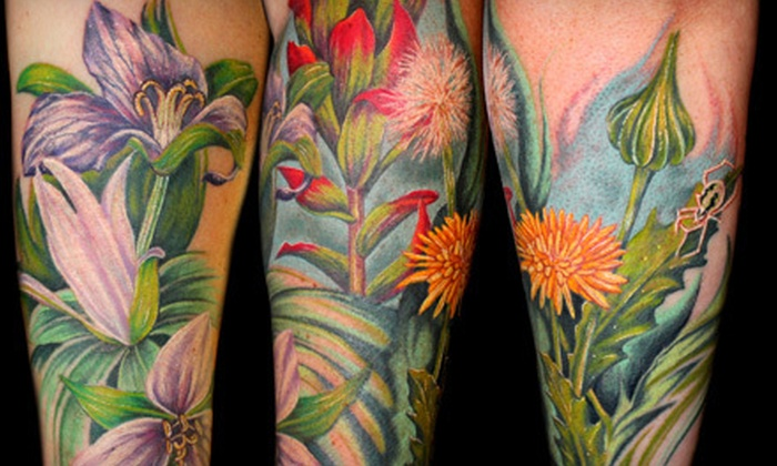 Area 51 Tattoo - Springfield: $49 for One Hour of Tattooing and Consulting at Area 51 Tattoo ($100 Value)