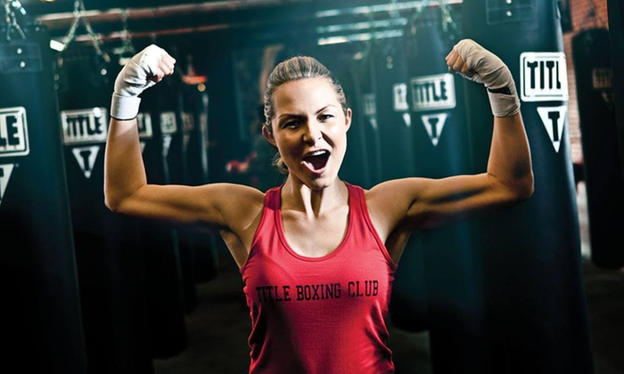 TITLE Boxing Club - Multiple Locations: Two Weeks of Boxing and Kickboxing Plus Hand Wraps at Title Boxing Club (78% Off). Three Options Available.