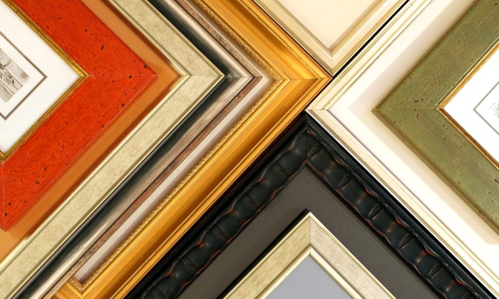 Quadro Photo & Framing - Vancouver: $40 for $100 Towards Custom Framing at Quadro Photo & Framing