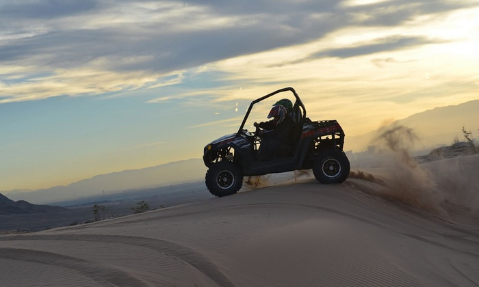Awesome Adventures - Las Vegas: One Two-Hour Nellis Dunes ATV Tour for One, Two, Four, or Six from Awesome Adventures (Up to 44% Off)