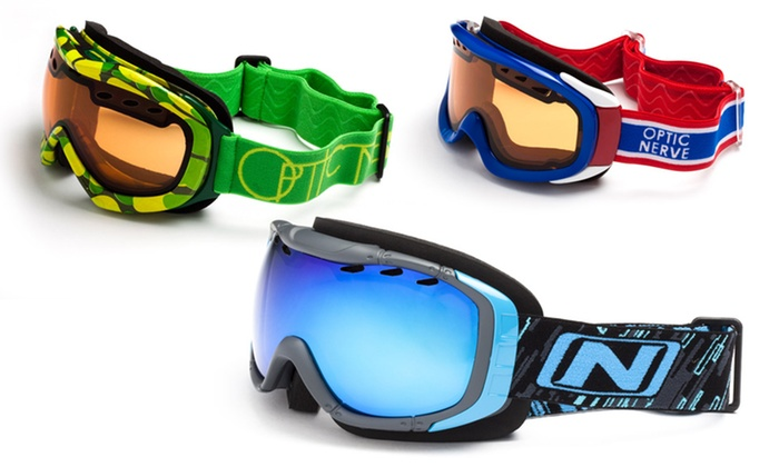 Optic Nerve Ski and Snowboarding Goggles: Optic Nerve Ski and Snowboarding Goggles. Multiple Styles Available from $22.99–$69.99. Free Returns.