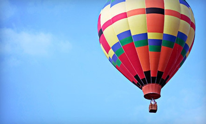 HiLife Ballooning - North Hill: $299 for a Hot Air Balloon Ride for Two from HiLife Ballooning ($650 Value)