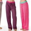 4-Pack of Women's Printed Lounge PJ Pants
