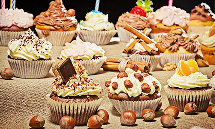 L'Oven Cupcakes - Richwood Home Owners Association: Two or Five Dozen Gourmet Cupcakes at L'Oven Cupcakes (Half Off)