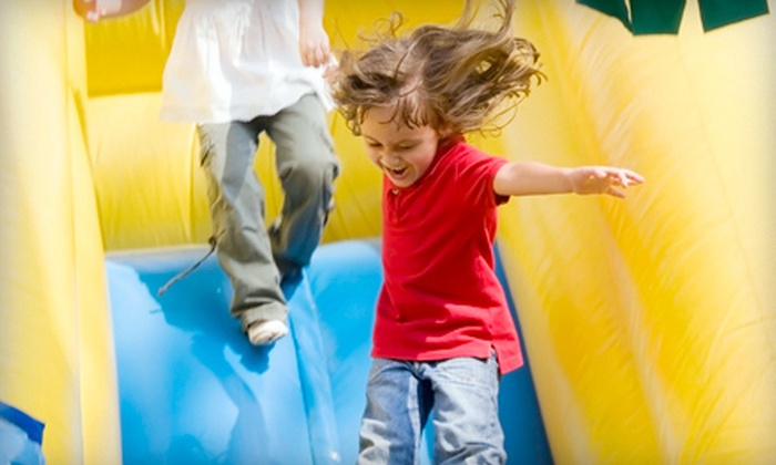Calgary Party Rental - Panorama Hills: $199 for a Themed Party for Up to 16 with a Bounce House, Piñata, and Tableware from Calgary Party Rental ($399 Value)