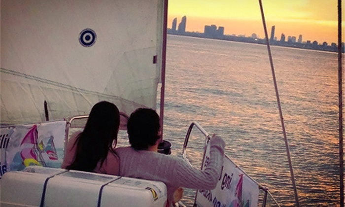 Gone Sailing Adventures - Spadina Wave Deck: 3.5-Hour Weekday Intro to Sailing Trip or a Private Sailing Trip Tuesday-Friday from Gone Sailing Adventures.