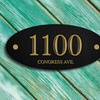 Up to 73% Off a Custom Address Plaque