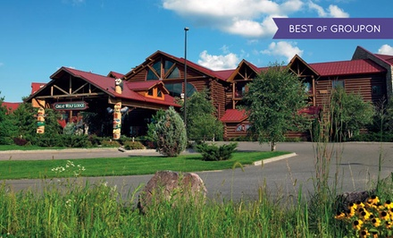 Groupon Deal: Stay with Daily Water Park Passes and Resort Credit at Great Wolf Lodge Wisconsin Dells. Dates into March.