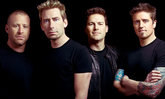 Nickelback Here and Now Tour - Farm Bureau Live at Virginia Beach: One G-Pass to See Nickelback at Farm Bureau Live at Virginia Beach on Saturday, July 28 (Up to 57% Off). Two Options Available.