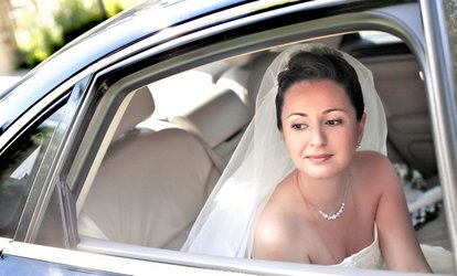 image for Wedding Car Hire: Four or 12 Hours with Kaps Prestige Chauffeurs