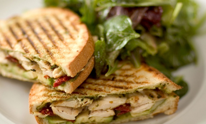 Sleeping Moon Cafe - Winter Park: Paninis and Wraps for Two or Four, or $20 for $40 Worth of Catering at Sleeping Moon Cafe