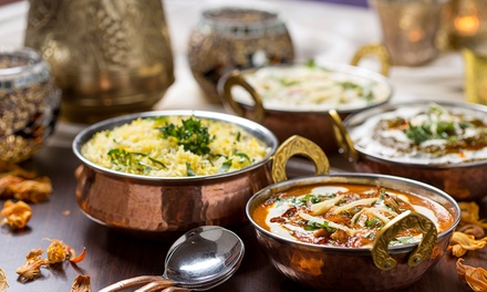 TwoCourse Nepalese or Indian Meal for Up to Four at Gurkha Dine
