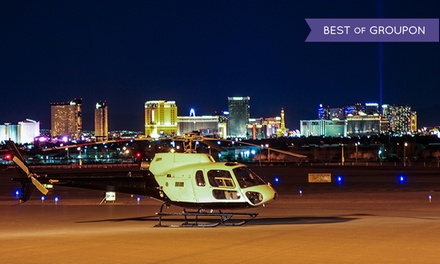 Las Vegas Strip JetPowered Airbus Helicopter Tour for One, Two, Four, or Six from iflyElite.com (Up to 59% Off)