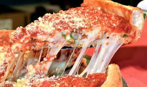 Frankie's Chicago Style Pizza: Chicago Style Pizza, Sandwiches, and Italian Food at Frankie's Pizza (Up to 47% Off). Two Options Available.