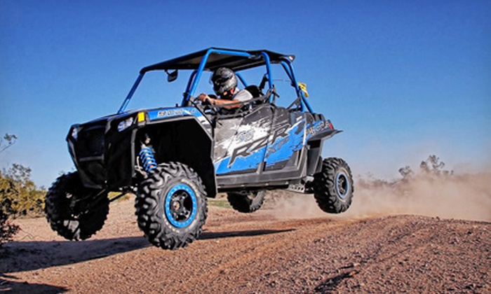 GoFast Rental - Apache Junction: Full-Day Quad Rental for One, or a UTV Rental with Two Seats from GoFast Rental (Half Off)