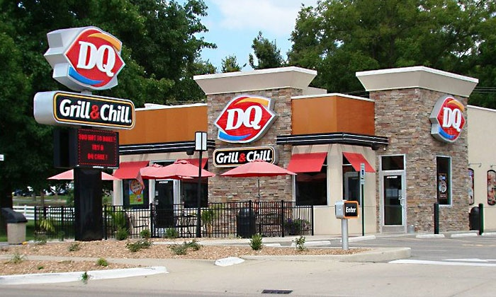 DQ Grill & Chill - Lebanon: 5 Blizzards, Smoothies, or Royal Treats; 12 Dilly Bars or DQ Sandwiches; or $15 for 3 $10 Groupons at DQ Grill & Chill