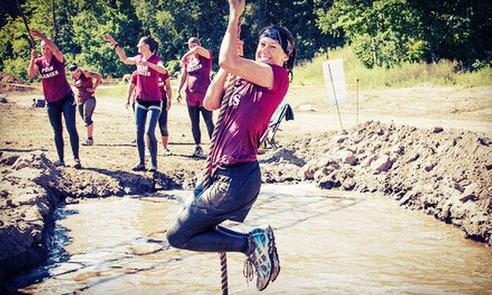 MuckFest MS - Millburn: $59 for 5-Mile Mud-Run Entry for One with T-Shirt, Lunch, and Beer at MuckFest MS on Saturday, June 15 ($90 Value)