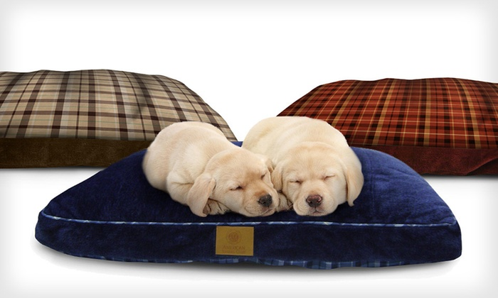 AKC Reversible Gusset Pet Bed: $24.99 for an AKC Reversible Gusset Pet Bed in Blue, Brown, or Red ($62.95 List Price). Free Shipping and Free Returns.