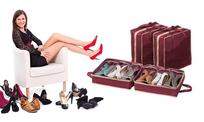 Organizador de zapatos de viaje groupon goods - Organizador de zapatos ...