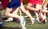 Dance Dash 5k - Levis Common: Dance Dash 5k Race Entry and Event T-shirts for One or Two (Up to 59% Off)
