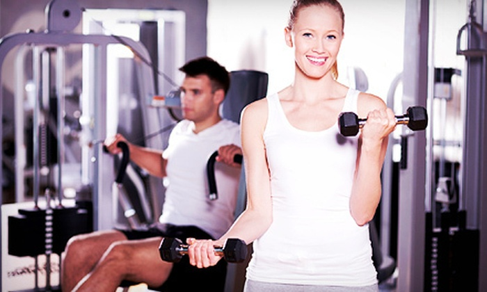 Spectrum Athletic Clubs - Multiple Locations: $49 for 10 One-Day Gym Visits with Classes at Spectrum Athletic Club ($250 Value)