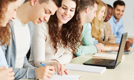 Four-Week English or Spanish Language Evening Course at Vancouver English Centre (Up to 87% Off)