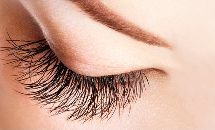 Full Set of Natural, Sable, or Mink Eyelash Extensions with Touchup Set at Bellezza Salon & Spa (Up to 51% Off)