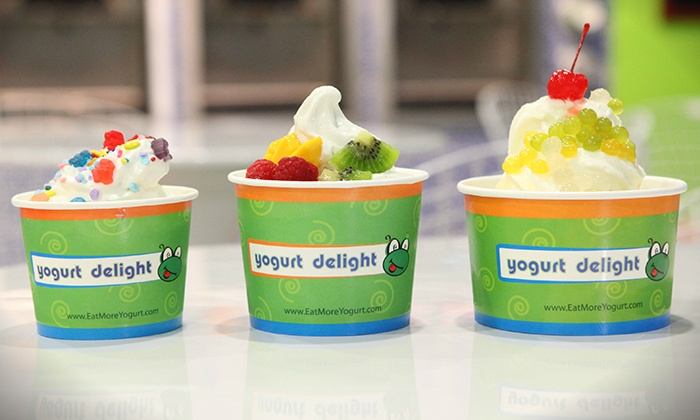 Yogurt Delight - Naperville: Frozen Yogurt at Yogurt Delight (Up to 50% Off). Two Options Available.