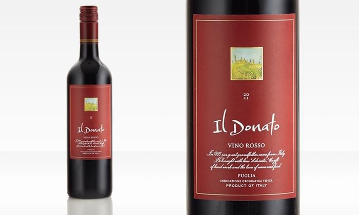 Donato Vino Rosso 12pk: $99.99 for an Il Donato Vino Rosso 2011 Case ($252 List Price). Free Shipping.