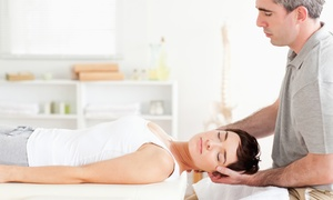 West Coast Chiropractic: Chiropractic Exam with One or Three 60-Minute Deep-Tissue Massages at West Coast Chiropractic (Up to 89% Off)