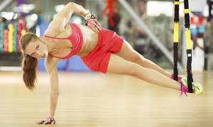Hard Training Fitness Club: 5 or 10 TRX Total-Body Classes at Hard Training Fitness Club (Up to 70% Off)