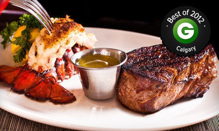 Halo Steakhouse, Seafood & Wine Bar - Lake Bonavista: Steakhouse Cuisine and Seafood at Halo Steak Seafood and Wine Bar (Half Off). Three Options Available.