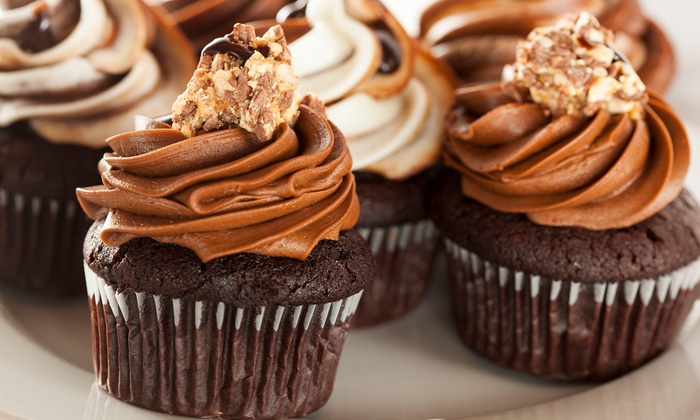 Posies & Pastries - Holland: $14.99 for One Dozen Gourmet Cupcakes at Posies & Pastries ($29.99 Value)
