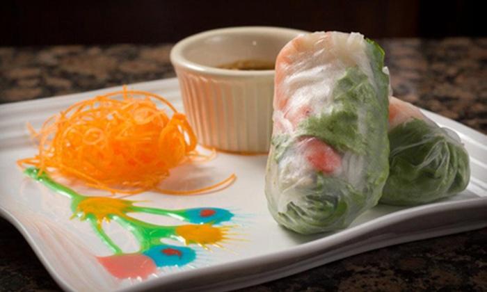 Bamboo Pho & Springroll - Arlington: Asian Food at Bamboo Pho & Springroll (Half Off). Two Options Available.