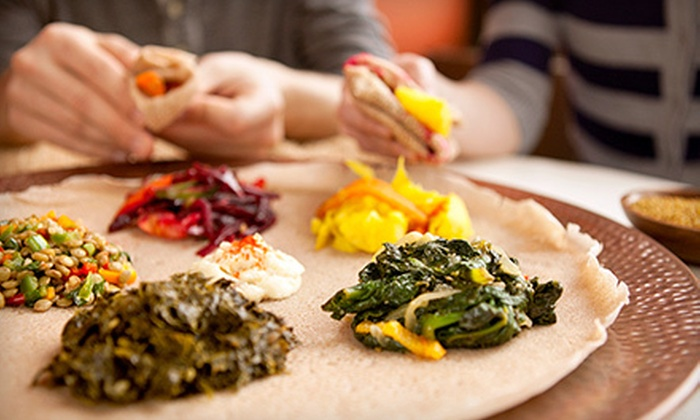 Sheba Dining - Downtown: $25 for $50 Worth of Ethiopian Food and Drinks for Two at Sheba Dining in Oakland