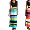 Cherry Stix Women's Striped Maxi Dress