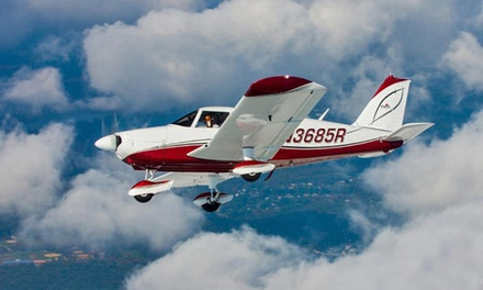 One-Hour Flight Lesson with Ground Training and Video for One or Two from Positive Rate Gear Up (Up to 73% Off)