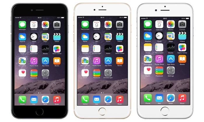 apple iphone 6 16 64go reconditionn groupon. Black Bedroom Furniture Sets. Home Design Ideas