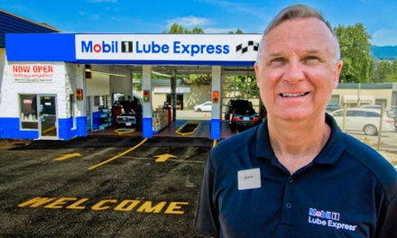 One Oil Change at Mobil 1 Lube Express (43% Off)