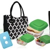 Fit & Fresh Lunch Bags with Containers