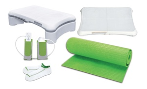 Digital Gadets 5-in-1 Fitness Bundle for Wii Fit