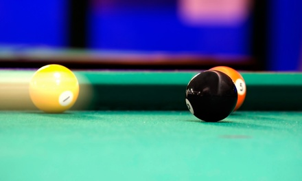Two Hours of Billiards and a Pitcher or Domestic or Imported Beer or Soda at The Break Room (Up to 61% Off)