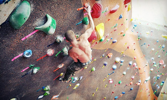 Evolution Rock + Fitness - Concord: One-Month Membership, 10 Climbing Visits, or Climbing Party for Up to 10 at Evolution Rock + Fitness (Up to 71% Off)