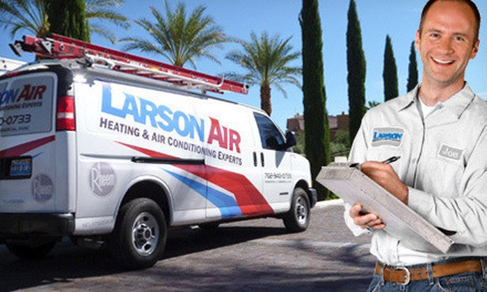 Larson Air - Paradise: $49 for Furnace Safety Check from Larson Air ($119 Value)